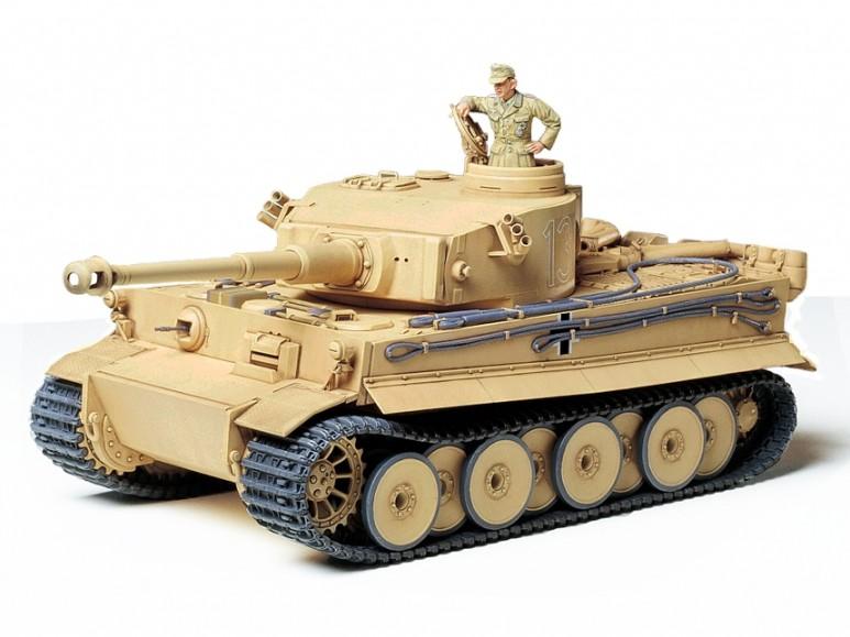 Tamiya Tiger 1  Ausfurung Afrika 1 35 35227